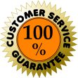 CUSTOMER SERVICE GUARANTEE 100 %